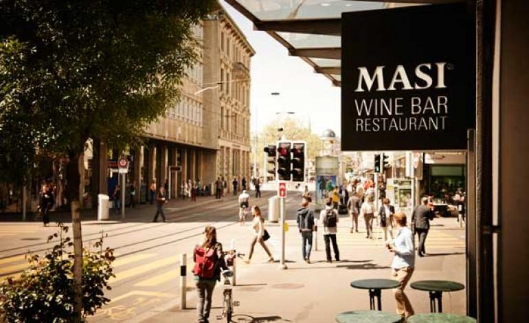 Masi, a Zurigo primo wine bar & restaurant