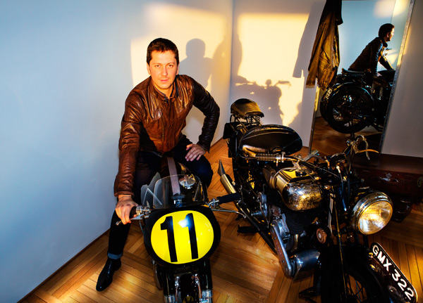 Michele Malenotti, managing director di Matchless
