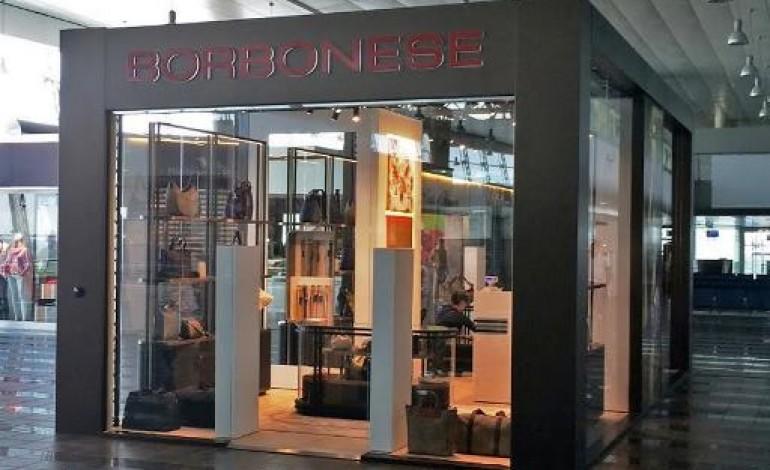 Borbonese fa check-in all'aeroporto di Torino