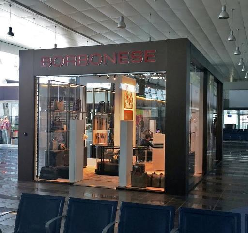 Borbonese store Torino Caselle