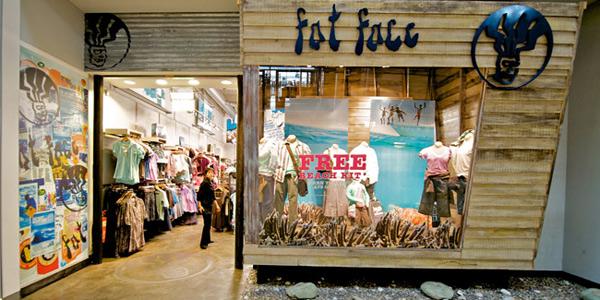 Un negozio Fat Face