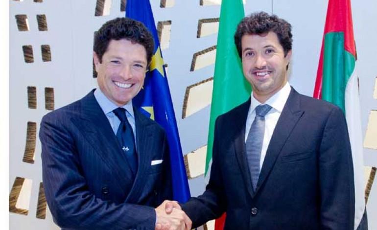 Vicenza porta VicenzaOro a Dubai