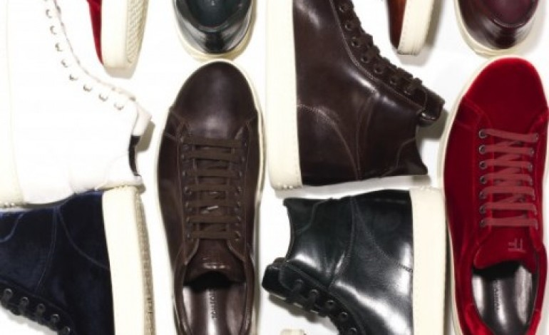 Tom Ford sedotto dalle sneakers made in Italy