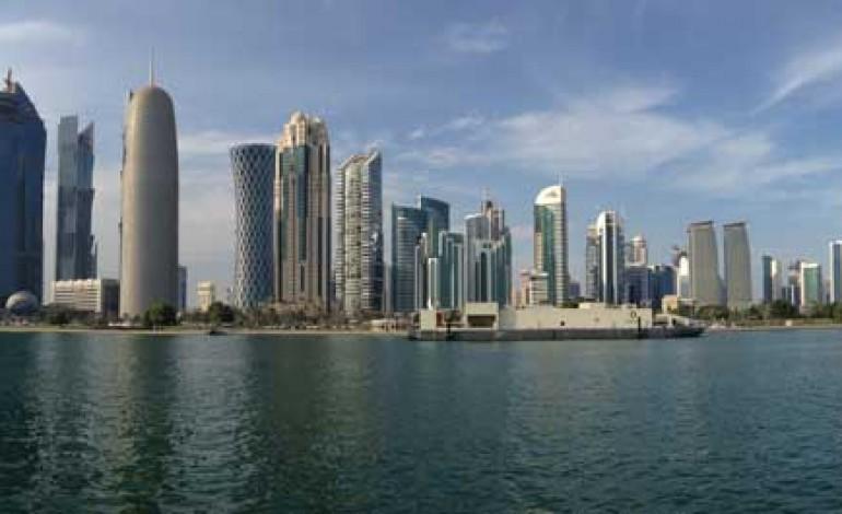 Lo sceicco presenta il salone Brand Italy in Qatar