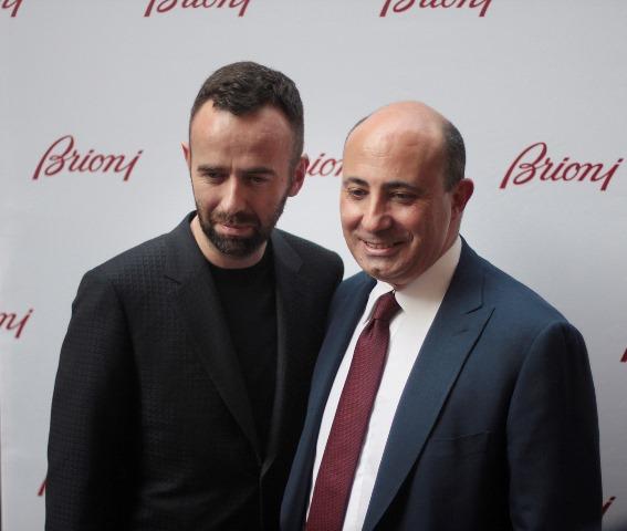 Brendan Mullane e Francesco Pesci