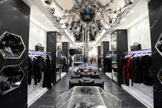 Boutique Philipp Plein in via Montenapoleone