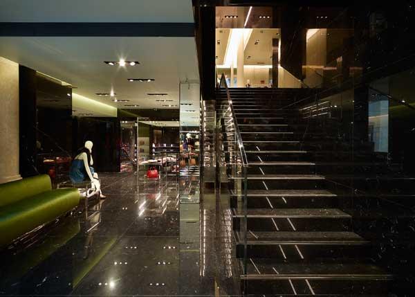 Lo store Prada a Torino