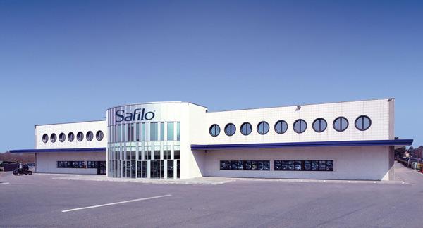 Uno stabilimento Safilo