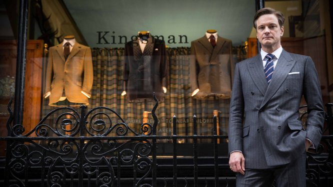 "Colin Firth in ""Kingsman: The Secret Service"""