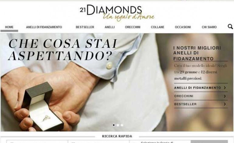 21Diamonds si affida ad Hybris per l'e-commerce
