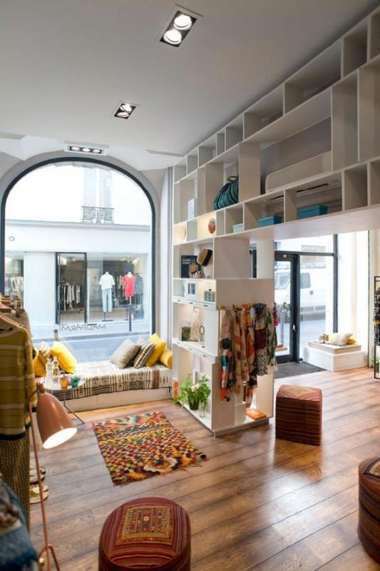 La boutique Malìparmi a Parigi