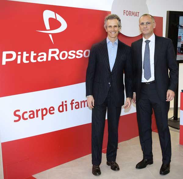 Alessandro Benetton con Andrea Cipolloni