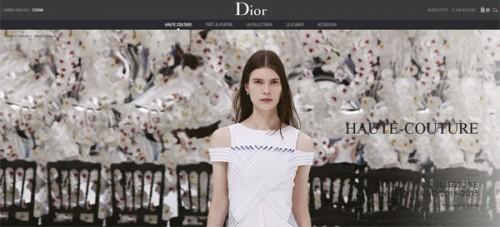 Dior Couture - Sito web