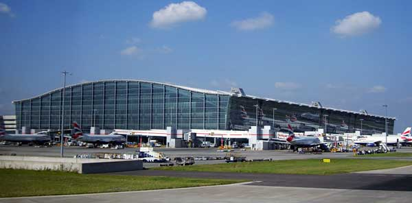 Il terminal 5 di Heathrow