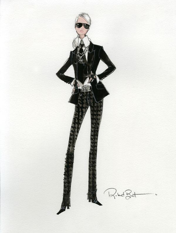 Barbie Karl Lagerfeld