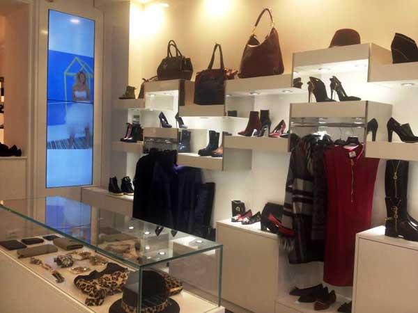 Un interno del nuovo store