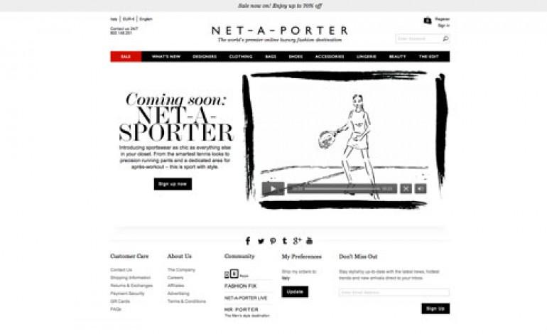 Net-a-porter, debutto sportivo con Net-a-sporter