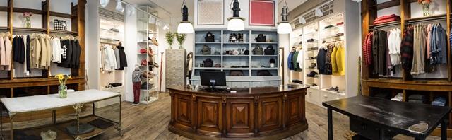 Primo store Woolrich in Repubblica Ceca