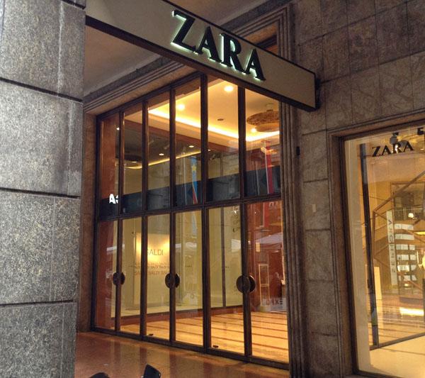 Zara italia sindacati pronti a mobilitazione for Zara uffici milano