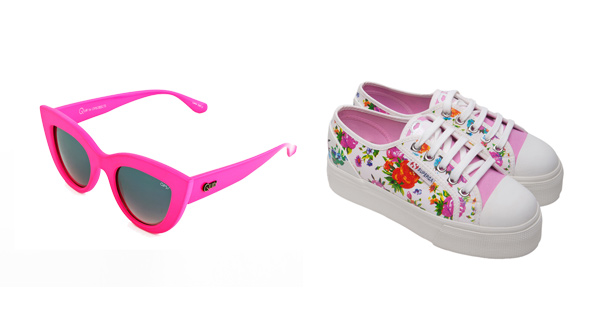 Occhiali Ops!Kitti e sneaker Superga for Ops!