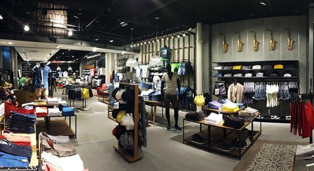 Nuovo layout degli store Clayton