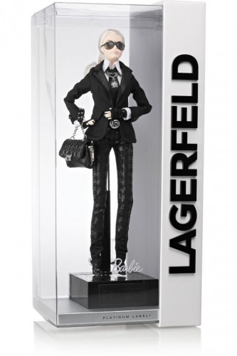 La limited edition Barbie Karl Lagerfeld