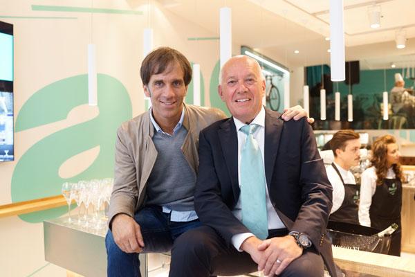 Davide Oldani e Salvatore Grimaldi