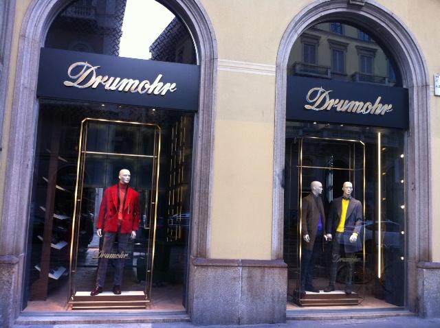 Monomarca Drumohr - via Manzoni, 45 Milano