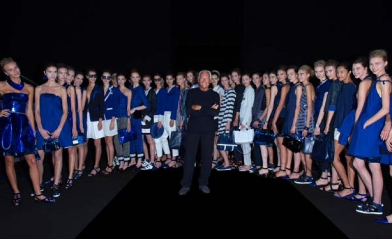 Armani torna a 'puntellare' la fashion week