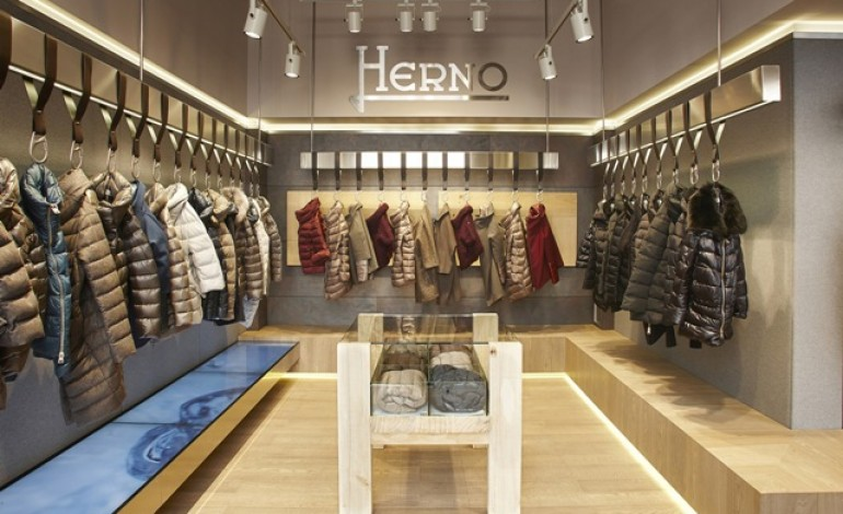 Herno si trasferisce in via Sant'Andrea