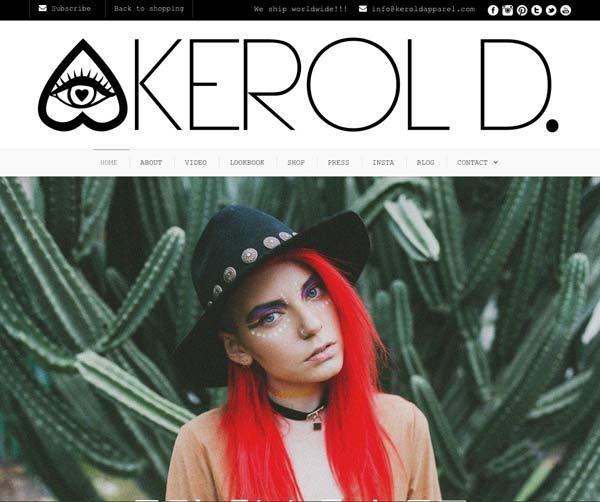 Il nuovo sito Kerol D
