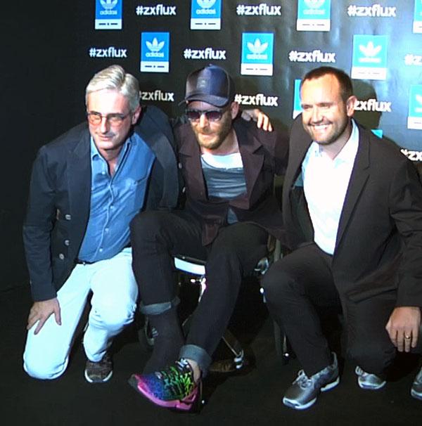 Andrea Tessitore, Lapo Elkann e Stephen Pierpoint