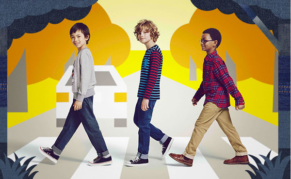 Alcuni look Uniqlo Kids