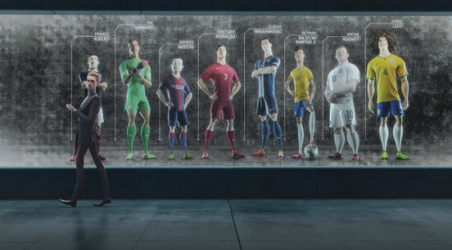 Un frame di 'The last game' di Nike