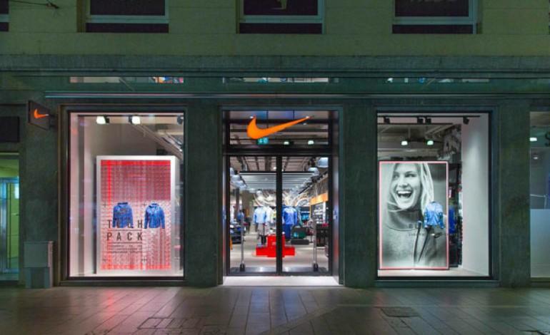 Nike apre uno store di  400 mq in via Torino