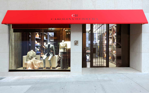 CH Carolina Herrera Store Madison Ave NY