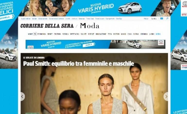 Corriere.it, online il nuovo canale moda