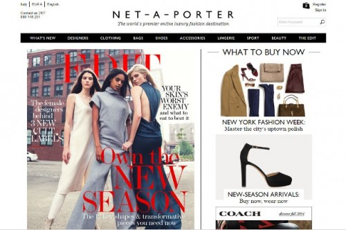 Home page Net-a-porter