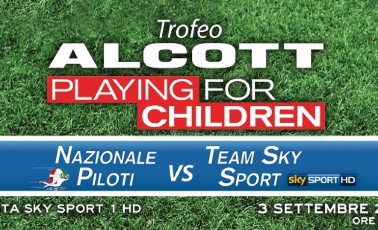 Alcott fa charity con Playing for Children