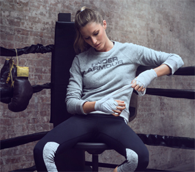 Gisele Bündchen per Under Armour