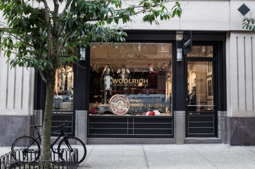Woolrich store New York Soho