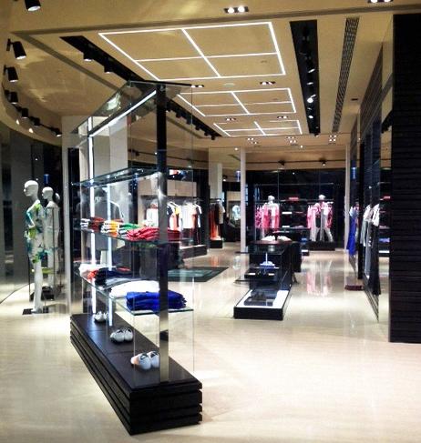 Una boutique Dirk Bikkembergs in Cina