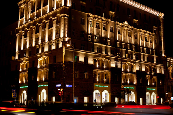 Lo store Benetton a Mosca