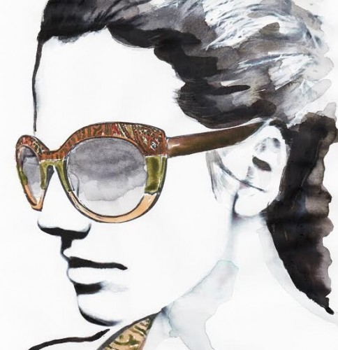 Un bozzetto Etro Eyewear