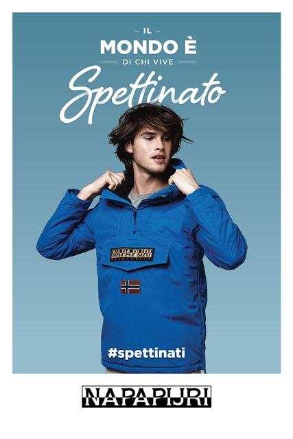 La nuova campagna pubblicitaria di Napapijri in Italia
