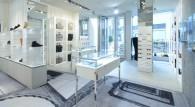Il negozio Maison Martin Margiela in Porta Nuova