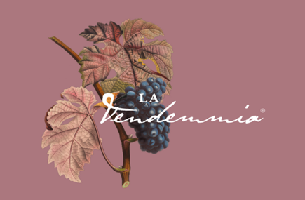 """Logo della manifestazione """"La Vendemmia"""""""
