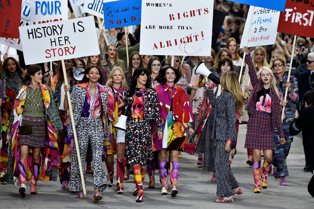 Chanel P/E 2015. (Credits: Getty Images)