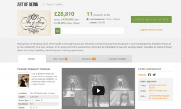Emmanuel (che vestì Diana) lancia crowdfunding