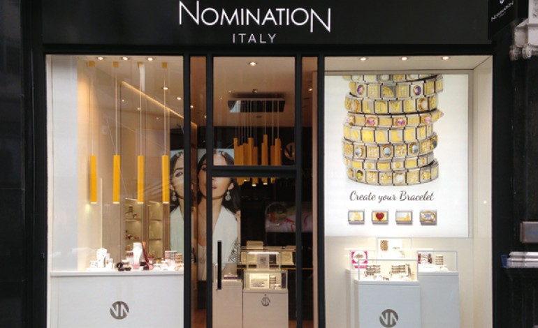 Primo flagship londinese per Nomination